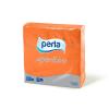 Perla Aperitivo szalvéta 50 db 24x24 cm, 3 rétegű (narancssárga)