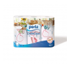 Perla Dolce Casa 3x54 lapos, 3 rétegű, 4 szín dekormintás papírtörlő higiéniai papíráru