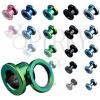Titánium alagút - anodizált, színes, csavarzár