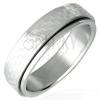 Sebészeti acél gyűrű - forgatható sakktábla