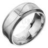 Acélgyűrű - karika egy hullámmal
