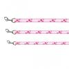 trixie 15918 Modern Art Rose Heart állítható póráz, XS-S