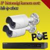 Hikvision 2 bullet kamerás 2MP PoE IP szett - BŐVÍTHETŐ (hik-ip-2b02)