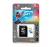 Silicon Power Elite microSDHC UHS-1 128GB kártya adapterrel Színes memóriakártya
