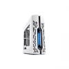 Deepcool Számítógépház - GENOME WH-BL (fehér-kék,ablakos, 1x12cm ventilátor, ATX, mATX, 2xUSB3.0, beépített vízhűtés)