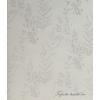 Ezüst fa és levél mintás tapéta