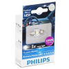 Philips (129416000KX1) X-tremeVision C5W LED izzó, 30 mm, 6000 K, 1 db