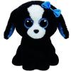 Ty. Plüss figura Beanie Boos 24 cm TRACEY - fekete/fehér kutya