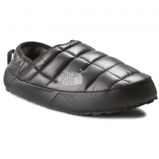 The North Face Zártpapucs THE NORTH FACE - Thermoball Traction Mule II T0CKJ6DXF-090 Shiny TNF Black/Zinc Grey