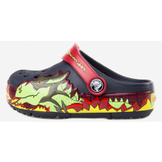 CROCS Fiú Crocs CrocsLights Fire Dragon Clog Gyerek Crocs (97413)