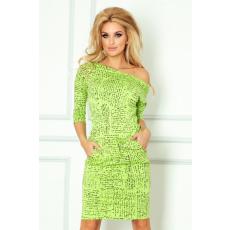 saf Feliratos ruha 13-35 zöld
