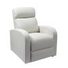 Félix luxus dönthető TV-néző fotel fehér