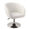 Gloria fotel, forgófotel, bárfotel fehér