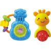 Smily Play Set of glowing and musical rattles K3638