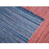 Beliani Matrózkék szőnyeg - pamut - 160x230 cm - BESNI