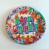 Papírtányér Happy Birthday 20 db-os