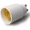 Adeleq Foglalat átalakító Gu10->E27 Műanyag 00-850-1027  - Adeleq