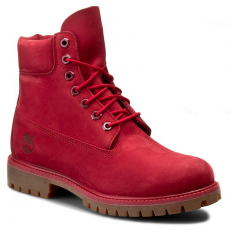 TIMBERLAND Bakancs TIMBERLAND - 6 in Premium Boot A1149 Red