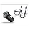 Sony Ericsson Sony Ericsson gyári USB szivargyújtós töltő adapter + micro USB adatkábel - 5V/1,2A - AN400 (csomagolás nélküli)