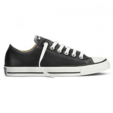 Converse Chuck Taylor All Star Ox Leather női tornacipő, Fekete, 35 (132174C-001-3)