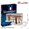CubicFun Párizsi Diadalív - Triumphal Arch - Paris - Cubicfun 3D Puzzle