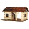 WALACHIA fa építőjáték modell - vasútállomás