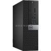 Dell Optiplex 3040 Small Form Factor | Core i3-6100 3,7|6GB|500GB SSD|0GB HDD|Intel HD 530|MS W10 64|3év