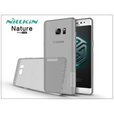 Samsung N930F Galaxy Note 7 szilikon hátlap - Nillkin Nature - szürke tok és táska