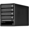 Silverstone SST-TS433-TB, 4-Bay 3,5 HDD ház - fekete