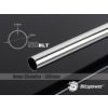 Bitspower None Chamfer Brass Link Tube 12mm AD, 300mm - fényes ezüst
