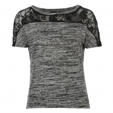 Rock and Rags Top felső Rock and Rags Lace Jumper női