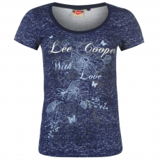 Lee Cooper Póló Lee Cooper Textured Scoop női