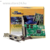 Best Connect PCI - 2+1 soros port párhuzamos port multi IO vezérlő