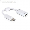 DELOCK Displayport -> HDMI M/F adapter fehér