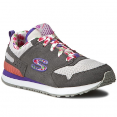 Skechers Sportcipő SKECHERS - Floral Fancies 84201L/GYMT Gray/Mt