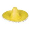 "Sombrero ""Fernando"" citromsárga, 50 cm"