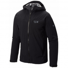 Mountain Hardwear Stretch Ozonic Jacket Túrakabát,outdoor kabát D (1584001-p_090-Black)
