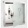 TSIDEEN Rozsdamentes divatos üveg kulcs szerkrény 30x30x6 cm