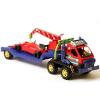 Kobra darus kamion F1-es autóval