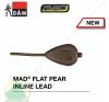 D.A.M MAD FLAT PEAR INLINE LEAD  85G 2db horgászkiegészítő