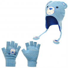 Official Sapka Official Care Bears and Glove Set gye.