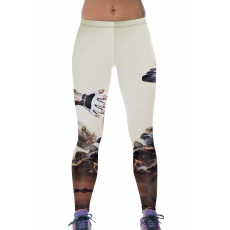 Masculine Warrior Workout mintás Leggings