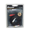 Vakoss Audio cable (CINCH) 2x RCA M- 2x RCA M 5m TC-A760K fekete audio kábel