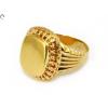 Galériás férfi arany pecsétgyűrű