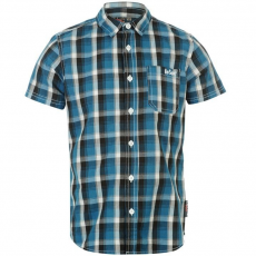 Lee Cooper gyerek ing - Check - Lee Cooper Short Sleeved Checked Shirt Junior Boys