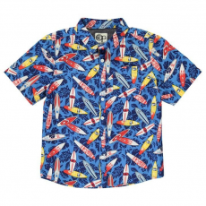 Ocean Pacific gyerek ing - All Over Print - Ocean Pacific All Over Print Shirt Junior Boys