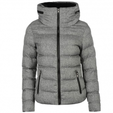 Mystify női dzseki - Fur Trim Hood Jacket