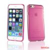 CELLECT iPhone 7 Plus vékony TPU szilikon hátlap,Pink