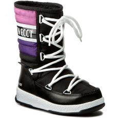 Moon Boot Hótaposó MOON BOOT - W.E Quilted Jr Wp 34050700003 Nero/Viola/Orchidea