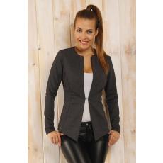 lemoniade Kabát Model Liv sötétszürke